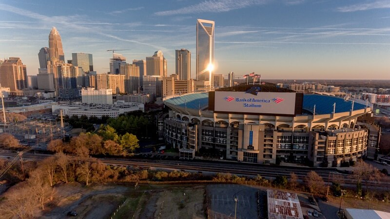 Bank of America Stadium Parking