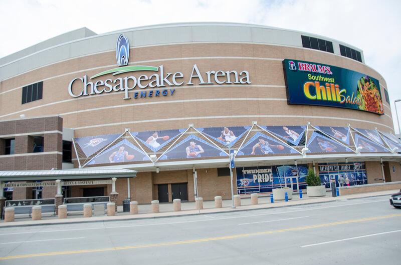 Chesapeake Energy Arena Parking