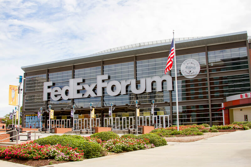 FedExForum Parking