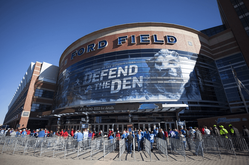 Ford Field Parking