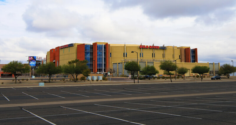 Gila River Arena Parking