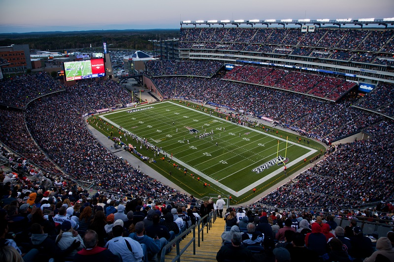Gillette Stadium Parking