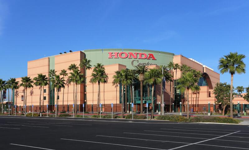 Honda Center Parking