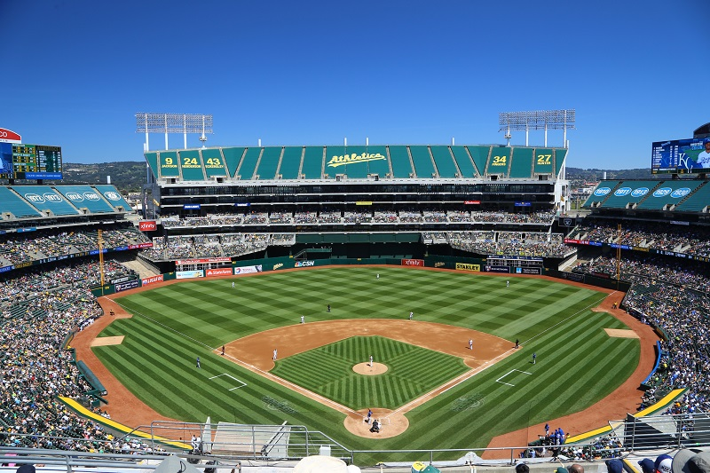 Oakland Athletics Stadium Parking