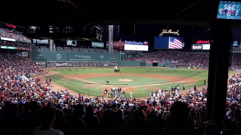 Behind-Home-Plate-at-Fenway-Park