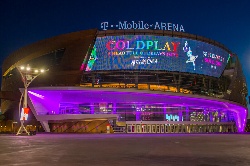 T-Mobile Arena Parking
