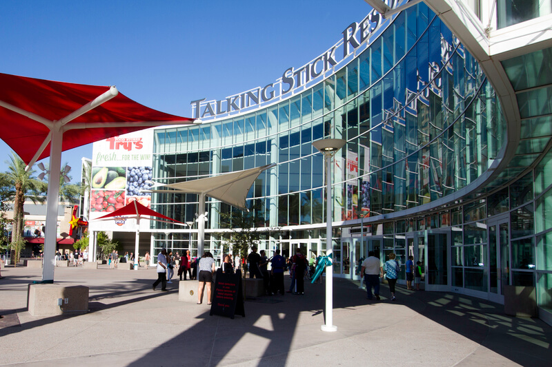 Talking Stick Resort Arena Parking