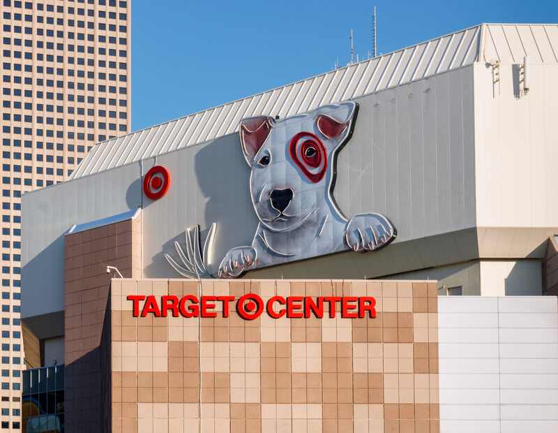 Target Center Parking