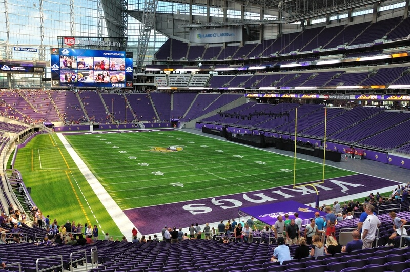 US Bank Stadium Parking