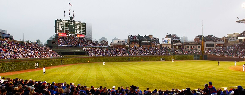 Wrigley-Field-Looking-at-the-Outfield