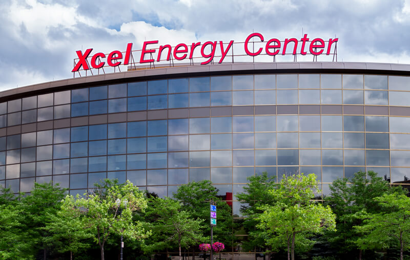 Xcel Energy Center Parking