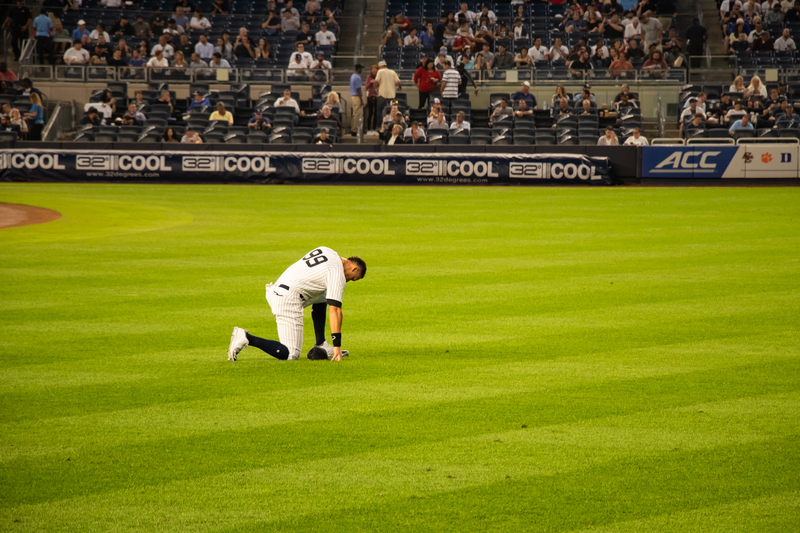 Aaron Judge and the Judge's Chambers at Yankee Stadium