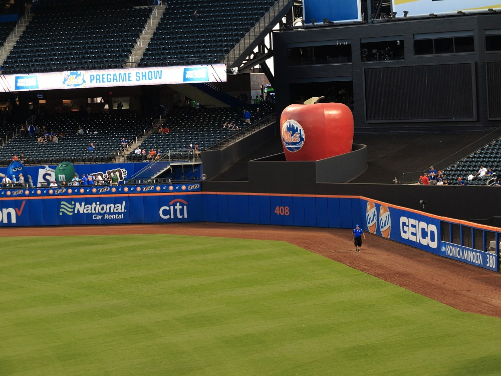NY Mets Home Run Apple