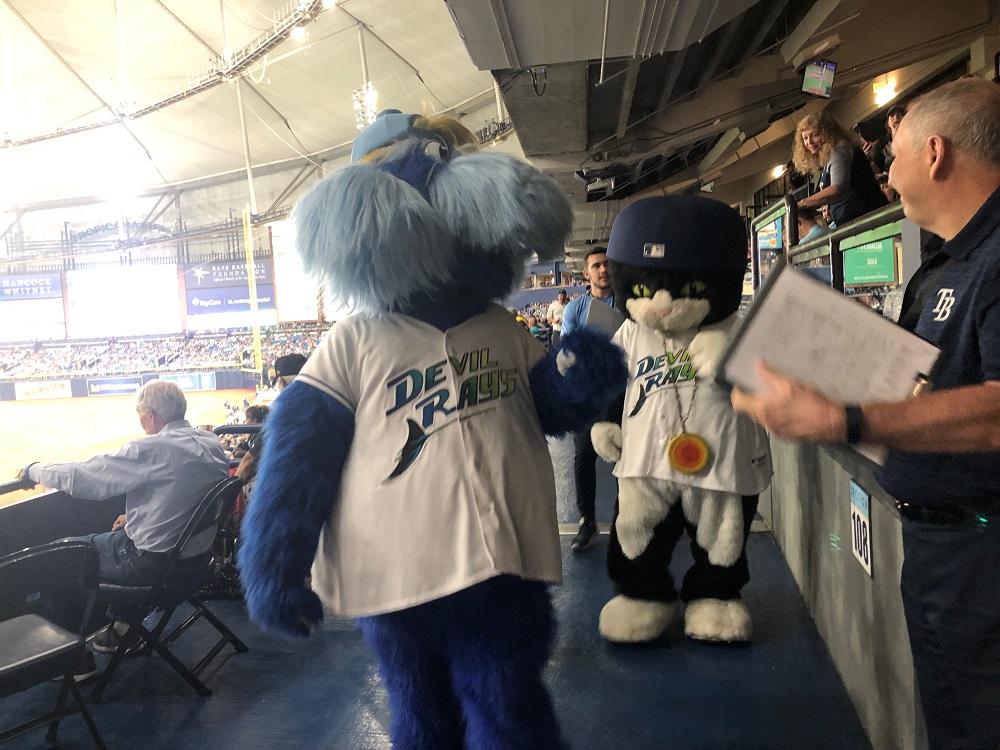 Tampa Bay Rays Mascots
