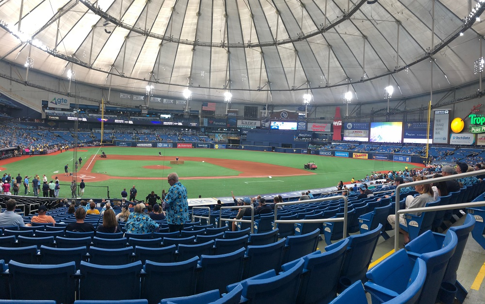 Tropicana Field and the Tilted Roof