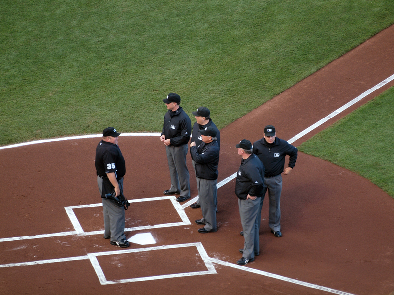 can one umpire eject another umpire