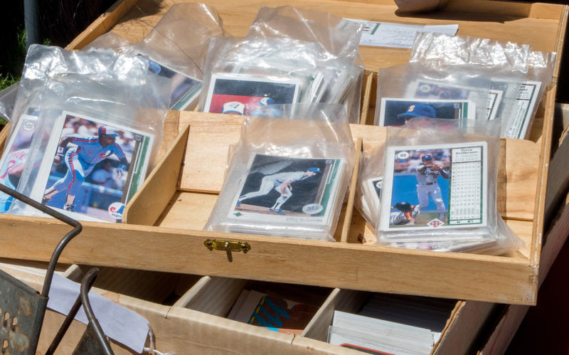 when did the baseball card market begin in the United States