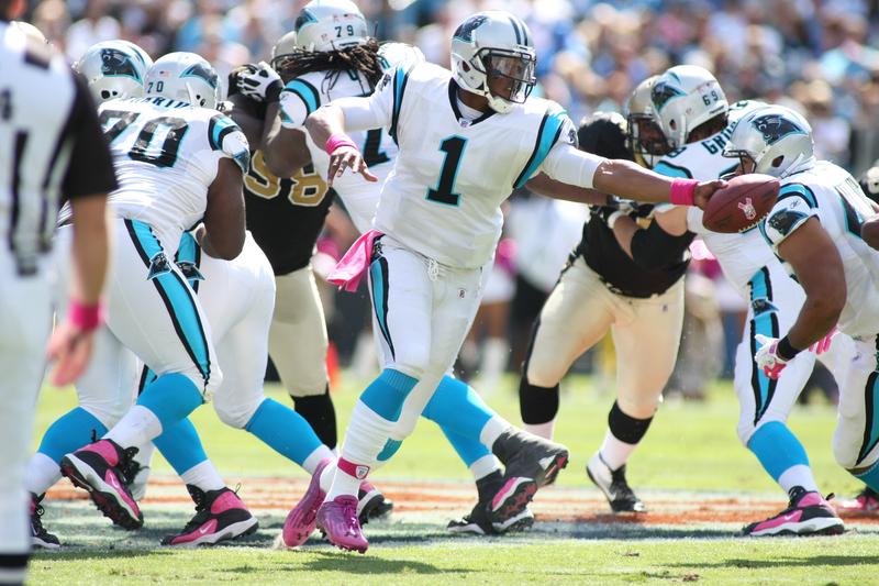 NFL Helmet Visor for Cam Newton