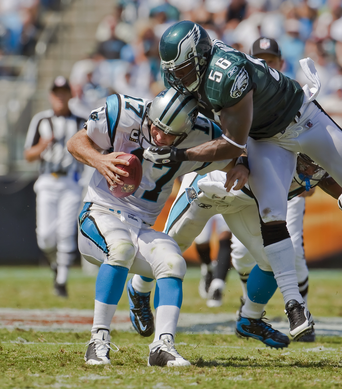 what does a blitz look like in the NFL