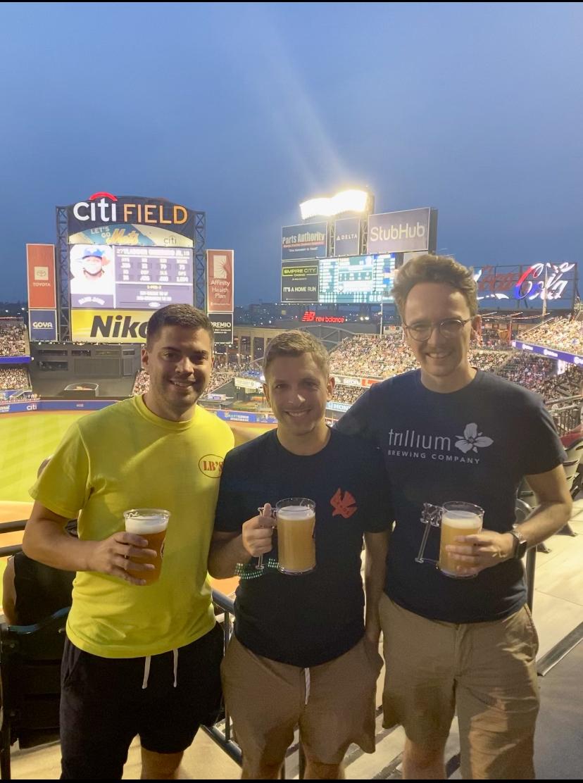 Greg, Ward, and Elias Citi Field July 2021